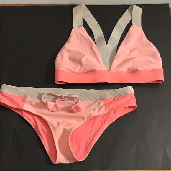 Pink Lululemon Bikini
